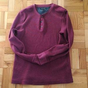 Henley sweater Banana republic. EUC. Size M. OBO